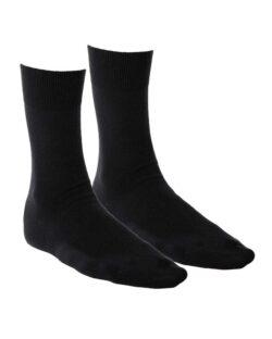 2 par svarte business sokker av økologisk bomull » Etiske & økologiske klær » Grønt Skift
