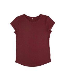 Kortermet t-skjorte burgunder - 100 % økologisk bomull » Etiske & økologiske klær » Grønt Skift