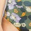 Blomstrete bikinitruse med høyt liv - resirkulert polyester » Etiske & økologiske klær » Grønt Skift