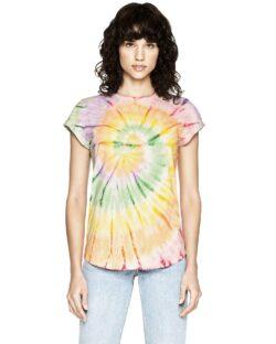Kortermet t-skjorte tie dye - 100 % økologisk bomull » Etiske & økologiske klær » Grønt Skift