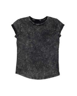 Kortermet t-skjorte syresvart - 100 % økologisk bomull » Etiske & økologiske klær » Grønt Skift