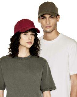 Burgunder baseballcaps - 100% økologisk bomull » Etiske & økologiske klær » Grønt Skift