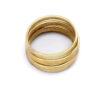 4 ringer som kan stables - 100 % messing » Etiske & økologiske klær » Grønt Skift