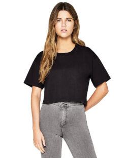Svart kort t-skjorte - 100 % økologisk bomull » Etiske & økologiske klær » Grønt Skift