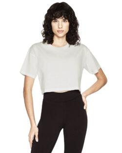 Steinvasket hvit kort t-skjorte - 100 % økologisk bomull » Etiske & økologiske klær » Grønt Skift