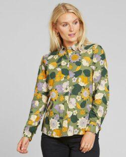 Blomstrete skjorte - 100 % tencel » Etiske & økologiske klær » Grønt Skift