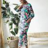 Blomstrete bukse - tencel, økologisk bomull og viskose » Etiske & økologiske klær » Grønt Skift