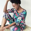 Blomstrete topp - tencel, økologisk bomull og viskose » Etiske & økologiske klær » Grønt Skift