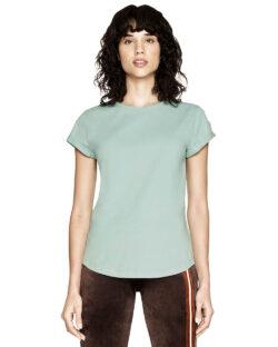 Kortermet t-skjorte slate green - 100 % økologisk bomull » Etiske & økologiske klær » Grønt Skift