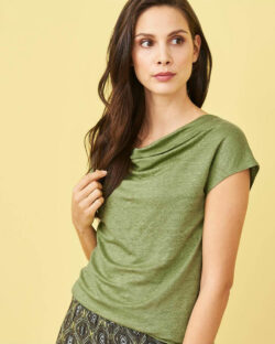 Grønn topp - 100 % økologisk lin » Etiske & økologiske klær » Grønt Skift