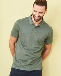 Grønn polo t-skjorte - økologisk bomull og bambusviskose » Etiske & økologiske klær » Grønt Skift