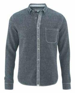 Jeansskjorte - hamp og økologisk bomull » Etiske & økologiske klær » Grønt Skift