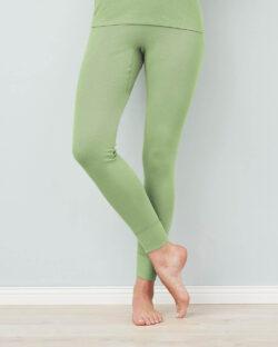 Pistasjgrønn stillongs - 100 % økologisk bomull » Etiske & økologiske klær » Grønt Skift