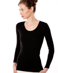 Svart trøye - 100 % økologisk bomull » Etiske & økologiske klær » Grønt Skift