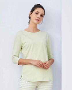 Melkegrønn pysjgenser - 100 % økologisk bomull » Etiske & økologiske klær » Grønt Skift