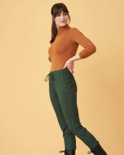 Brunoransje høyhalset genser - modal og regenererte proteinfibre » Etiske & økologiske klær » Grønt Skift