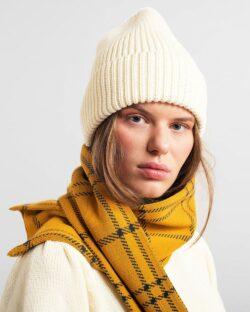 Hvit beanie lue - 100 % økologisk bomull » Etiske & økologiske klær » Grønt Skift