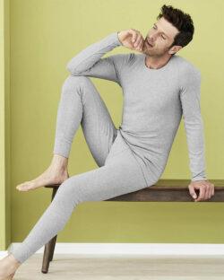 Gråmelert trøye - 100% økologisk bomull » Etiske & økologiske klær » Grønt Skift