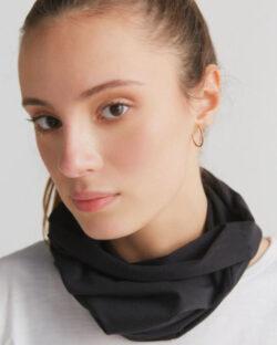 Svart tubeskjerf - økologisk bomull » Etiske & økologiske klær » Grønt Skift