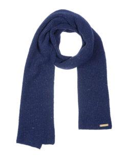 Mørkeblått unisex ullskjerf - 100 % økologisk ull » Etiske & økologiske klær » Grønt Skift