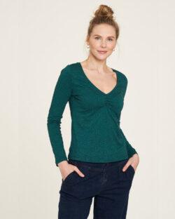 Grønn langermet topp - økologisk bomull » Etiske & økologiske klær » Grønt Skift