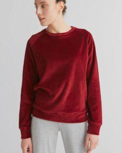 Burgunder velur genser – 100 % økologisk bomull » Etiske & økologiske klær » Grønt Skift