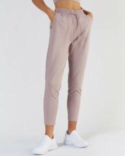 Beige rosa joggebukse - økologisk bomull og modal » Etiske & økologiske klær » Grønt Skift