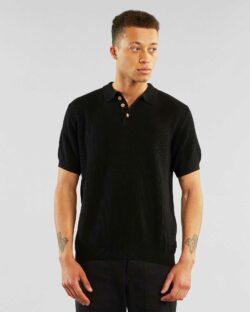Kortermet svart genser - 100 % økologisk bomull » Etiske & økologiske klær » Grønt Skift