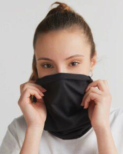 Svart unisex hals – økologisk bomull » Etiske & økologiske klær » Grønt Skift