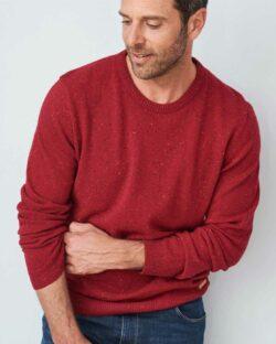 Rød ullgenser - 100 % økologisk ull » Etiske & økologiske klær » Grønt Skift