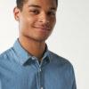 Lys dongeriskjorte - 100 % økologisk bomull » Etiske & økologiske klær » Grønt Skift