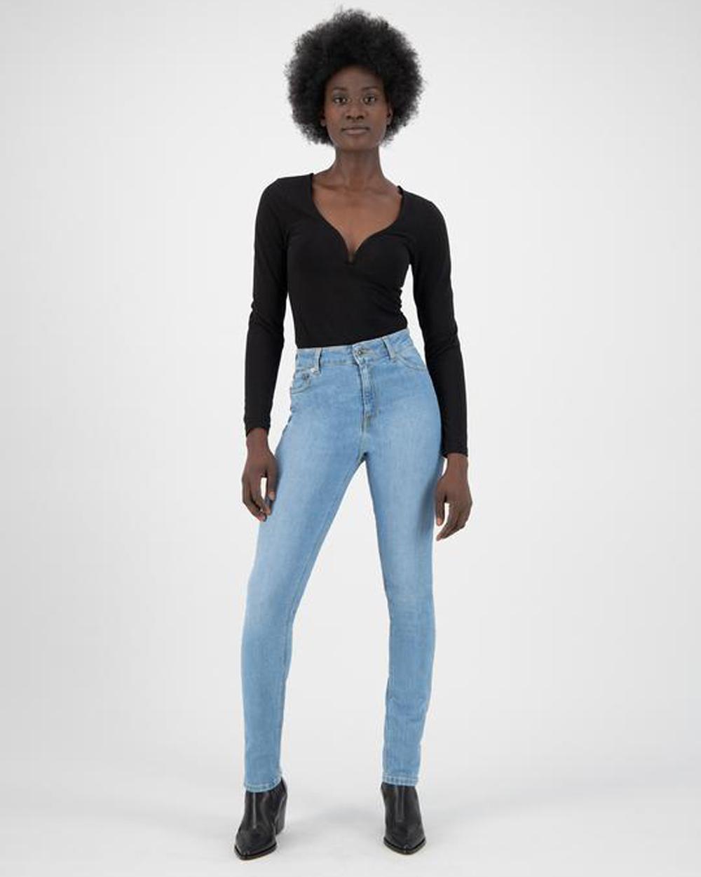 MUD jeans - Regular Swan - Heavy stone jeans i økologisk bomull