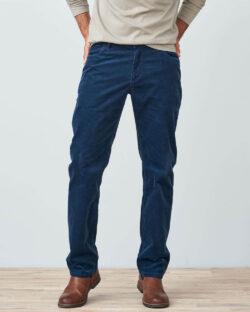 Mørkeblå bukse i kordfløyel - økologisk bomull » Etiske & økologiske klær » Grønt Skift