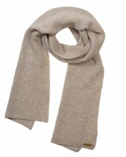 Gråbeige unisex ullskjerf - økologisk bomull og økologisk ull » Etiske & økologiske klær » Grønt Skift