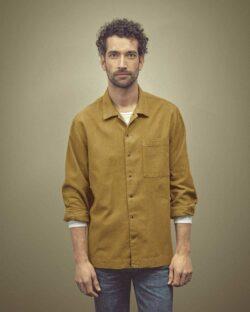 Sennepsgul skjorte - hamp og økologisk bomull » Etiske & økologiske klær » Grønt Skift