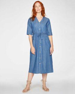 Dongeri kjole - økologisk bomull og tencel » Etiske & økologiske klær » Grønt Skift