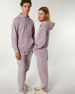 Utvasket lilla joggebukse - 100 % økologisk bomull » Etiske & økologiske klær » Grønt Skift