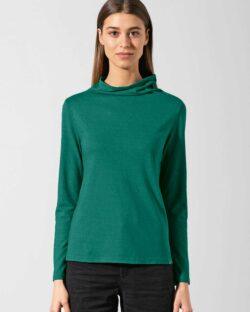 Mørkegrønn pologenser - hamp og økologisk bomull » Etiske & økologiske klær » Grønt Skift