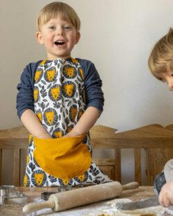 Forkle til barn med løvemotiv - 100 % økologisk bomull » Etiske & økologiske klær » Grønt Skift