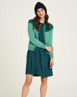 Lett grønn cardigan - 100 % økologisk bomull » Etiske & økologiske klær » Grønt Skift