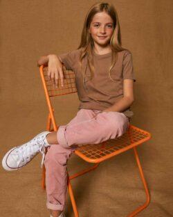 Naturbrun t-skjorte - 100 % økologisk bomull » Etiske & økologiske klær » Grønt Skift