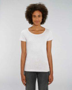 Lys grå melert t-skjorte - 100 % økologisk bomull » Etiske & økologiske klær » Grønt Skift