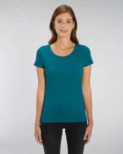 Sjøgrønn t-skjorte - 100 % økologisk bomull » Etiske & økologiske klær » Grønt Skift