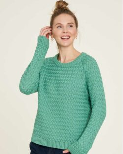 Dus grønn strikket genser - 100 % økologisk bomull » Etiske & økologiske klær » Grønt Skift