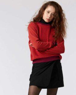 Plommefarget genser - 100 % økologisk bomull » Etiske & økologiske klær » Grønt Skift