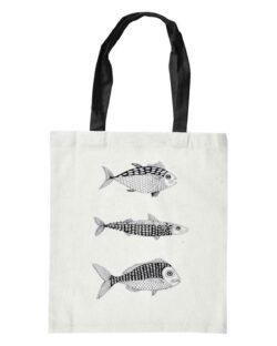 Handlenett med fisk - 100 % økologisk bomull » Etiske & økologiske klær » Grønt Skift